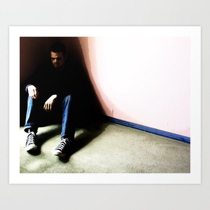 In the Corner #1 Art Print