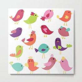 BIRDY Metal Print