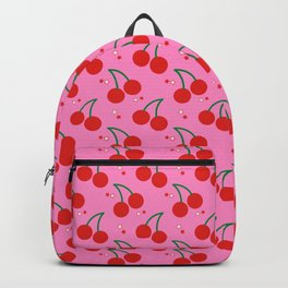 Cherry Bomb Pattern Backpack