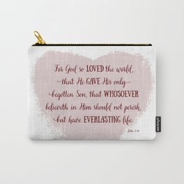 For God So Loved the World Carry-All Pouch