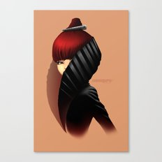 Fashion profile Canvas Print