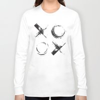 xoxo Long Sleeve T-shirts featuring XOXO by Neon Wildlife