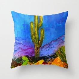 Desert Giant Throw Pillow