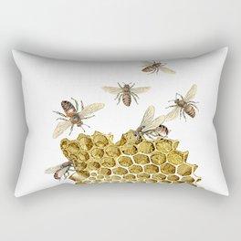 BEES and Honeycomb Rectangular Pillow