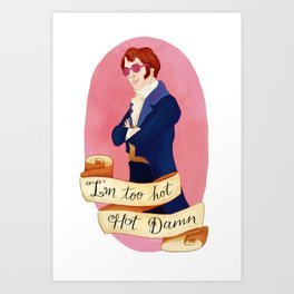 Mr. (Party) Darcy Art Print