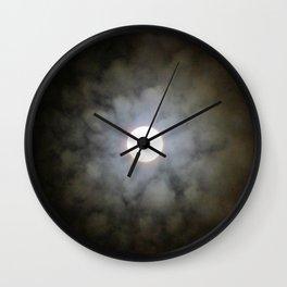 Lunar Floret Wall Clock