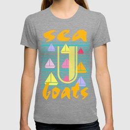 Sea U Boats & Stripes T-shirt