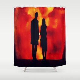 Something Awesome  Shower Curtain