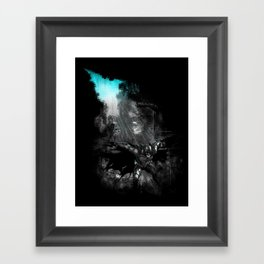 The Flight of the Knight Framed Art Print