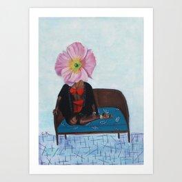 Poppy Janelle Art Print