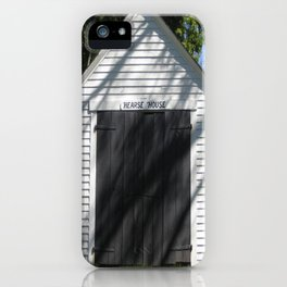 Hearse House iPhone Case
