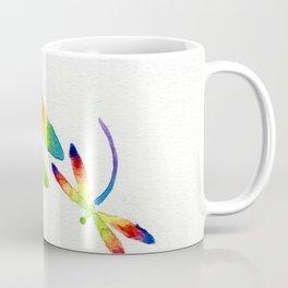 Little Rainbow Dragonflies Coffee Mug