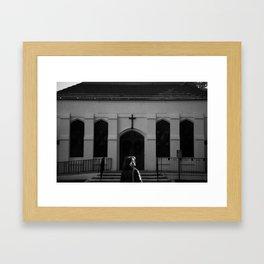 Facing Faith Framed Art Print