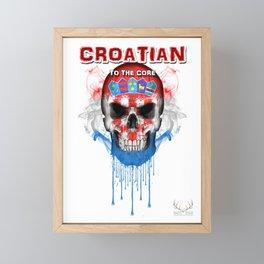 To The Core Collection: Croatia Framed Mini Art Print