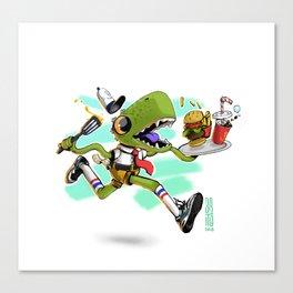 Bob x Reptar Canvas Print