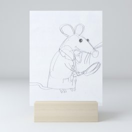 Mouse Scientist  Mini Art Print