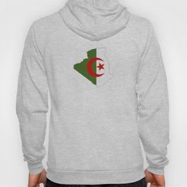 algeria flag map Hoody