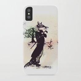 foxy uh? iPhone Case