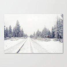 Bend Blizzard Canvas Print