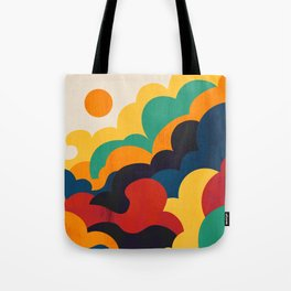 Cloud nine Tote Bag