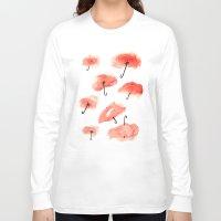 scuba Long Sleeve T-shirts featuring Scuba Glassing by Melanie Flynn