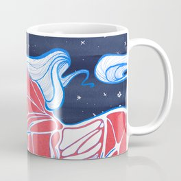 Cross-Section of a Unicorn Coffee Mug