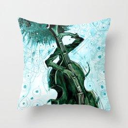 E.S. bot Throw Pillow