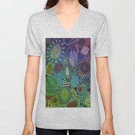 Colorful Patterns Unisex V-Neck