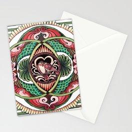 Lovebird Mandala Stationery Cards