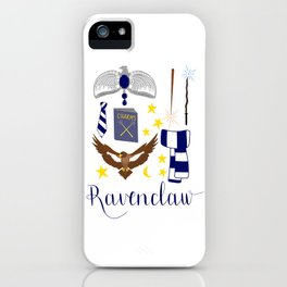 House of Ravenclaw iPhone Case