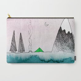 Sleeping near the sound of the sea Carry-All Pouch