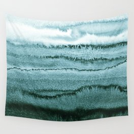WITHIN THE TIDES - OCEAN TEAL Wall Tapestry