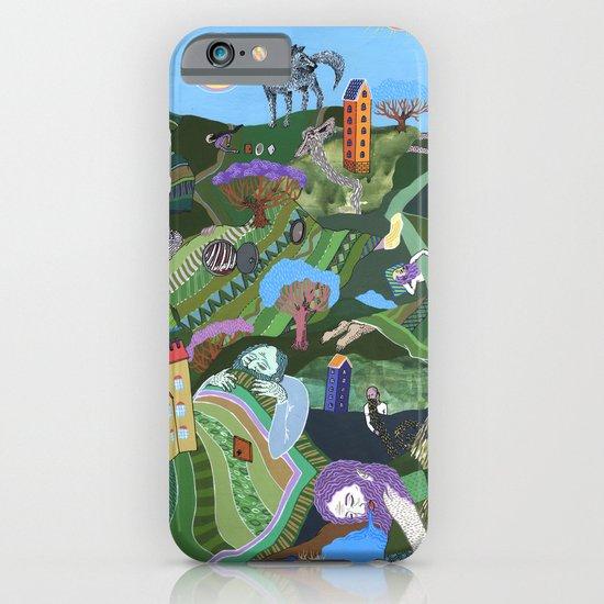 Sleeping Giants iPhone & iPod Case