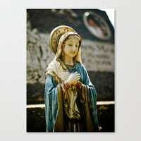 religious Canvas Prints featuring Religious beauty by Vorona Photography