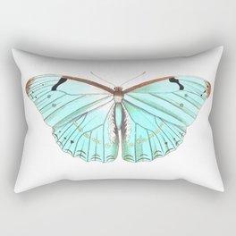 Butterfly Flutter By Rectangular Pillow