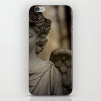 angel iPhone & iPod Skins featuring Angel by Maria Heyens