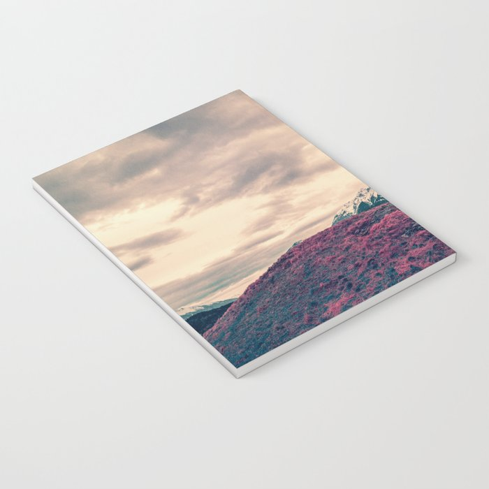 Japanese Mountains Notebook