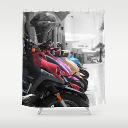 Scooter-licious  Shower Curtain