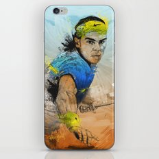Rafa Nadal iPhone & iPod Skin