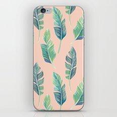 banana leaf pattern iPhone & iPod Skin