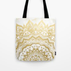 GOLD ORION JEWEL MANDALA Tote Bag