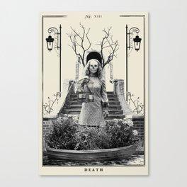 Fig XIII - Death Canvas Print