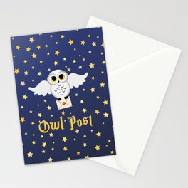 Owl Post - Borderless Stationery Cards
