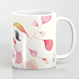 UNDER THE PINK LEAF Coffee Mug
