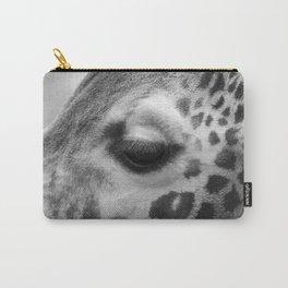 Eye of giraffe - mono Carry-All Pouch