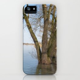 looking into the distance iPhone Case