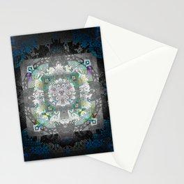 Enchanted Sacred Geometry Deep Meditation Print Stationery Cards