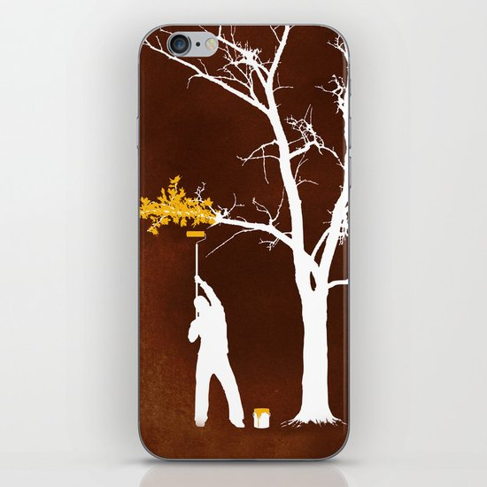 Relief Painting iPhone & iPod Skin