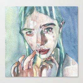 Water bearer Canvas Print
