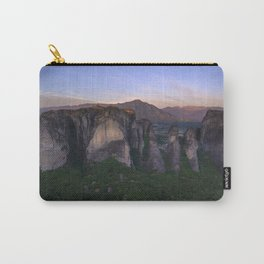 Meteora at sunrise Carry-All Pouch